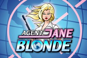 Agent Jane Blonde Kasinopeli logo